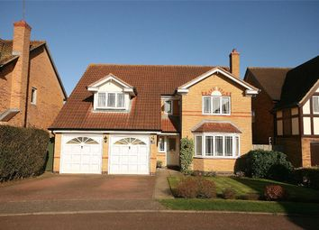Thumbnail 4 bed detached house for sale in Tudely Close, Wootton, Northampton
