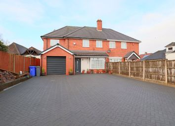 Thumbnail 4 bed semi-detached house for sale in Church Road, Longton, Stoke-On-Trent