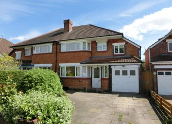 Thumbnail 4 bed property for sale in Queens Avenue, Shirley, Solihull