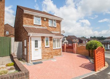 Thumbnail 3 bed detached house for sale in Bowers Park Drive, Woolwell, Plymouth