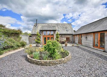 Thumbnail 4 bedroom barn conversion for sale in Castle Road, Llangynidr, Crickhowell