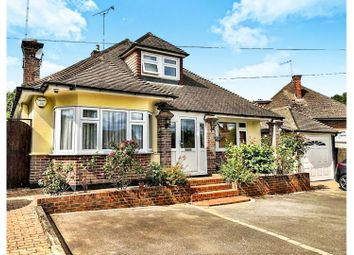 Thumbnail 4 bed detached bungalow for sale in Surman Crescent, Brentwood