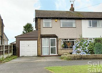 Thumbnail 3 bed semi-detached house for sale in Lilac Grove, Glapwell, Chesterfield, Derbyshire
