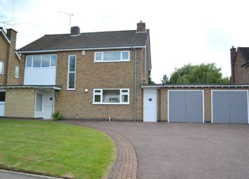 Thumbnail 3 bedroom detached house to rent in St Andrews Drive, Oadby, Leicester