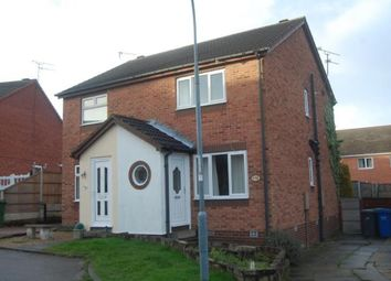 Thumbnail 2 bed semi-detached house to rent in Central Drive, Hasland, Chesterfield