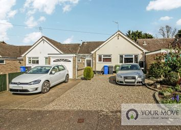 Thumbnail 3 bed bungalow for sale in Glebe View, Beccles