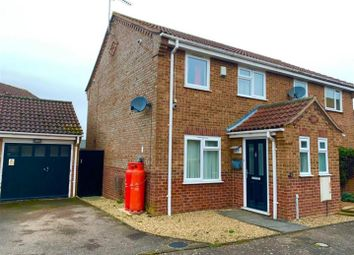 Thumbnail 3 bed semi-detached house for sale in Aylmer Drive, Tilney St. Lawrence, King's Lynn