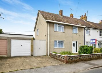 Thumbnail 3 bedroom end terrace house for sale in Mead Road, Willesborough, Ashford, Kent