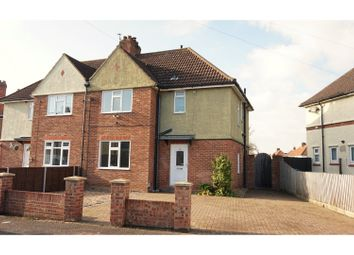 Thumbnail 3 bed semi-detached house for sale in Thackeray Rd, Ipswich