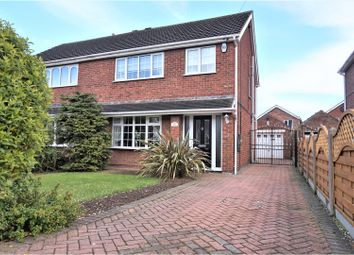 Thumbnail 3 bed semi-detached house for sale in Faulding Way, Grimsby