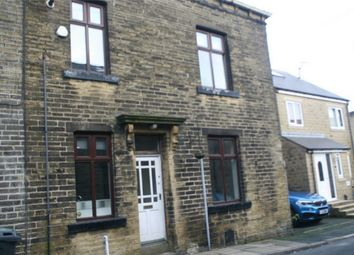 Thumbnail 4 bed end terrace house for sale in Knowles Street, Denholme, Bradford, West Yorkshire