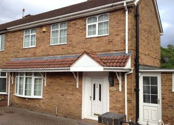 Thumbnail 3 bed semi-detached house to rent in Pine Green, Dudley