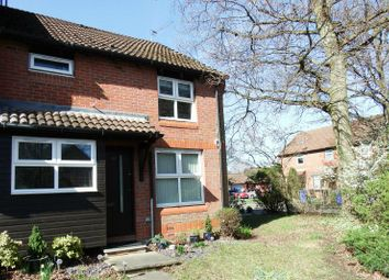 Thumbnail 1 bed end terrace house to rent in Hedgerley Court, Horsell, Woking