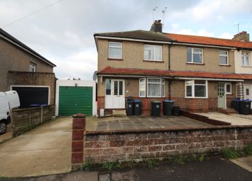 Thumbnail 3 bed end terrace house to rent in Orchard Avenue, Lancing