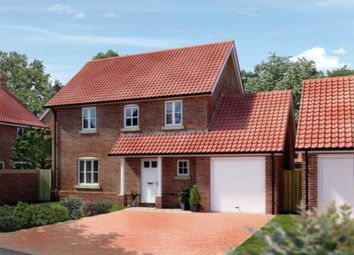 Thumbnail 4 bed detached house for sale in Oaks Lea, Acle, Norwich