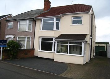 3 bed semi-detached house for sale in Fir Tree Avenue, Tile Hill, Coventry CV4