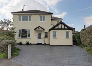 Thumbnail 4 bed detached house for sale in Manor Drive, Northwich