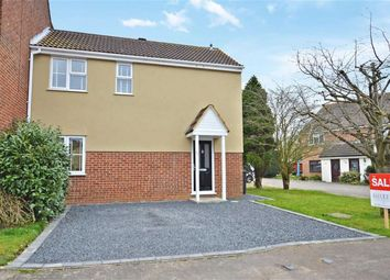 Thumbnail 3 bed end terrace house for sale in Cunningham Rise, North Weald, Epping