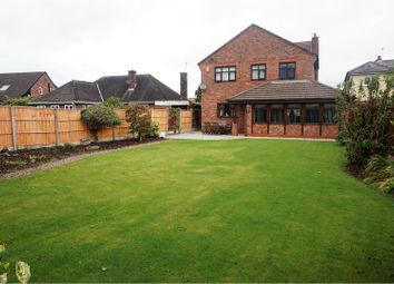 Thumbnail 4 bed detached house for sale in Chester Road, Sutton Weaver