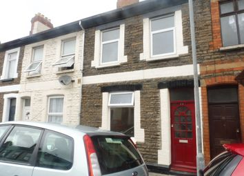 Thumbnail 3 bedroom terraced house for sale in Cyfarthfa Street, Roath, Cardiff