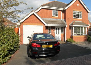 Thumbnail 4 bed detached house for sale in Barbel Drive, Wolverhampton