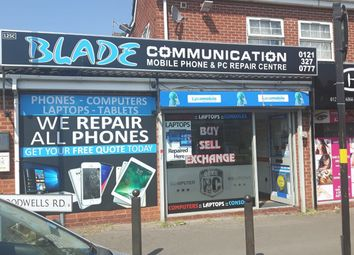 Thumbnail Retail premises for sale in St Agathas Road, Birmingham
