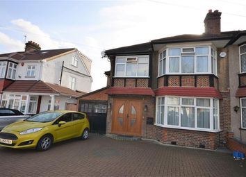 Thumbnail 4 bed semi-detached house to rent in Draycott Avenue, Kenton, Harrow, Middlesex