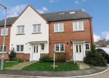 Thumbnail 4 bed end terrace house for sale in Bluebell Close, Ramsey St. Marys, Ramsey, Huntingdon