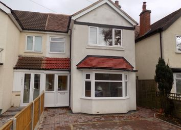 Thumbnail 3 bed semi-detached house for sale in Stratford Road, Shirley, Solihull