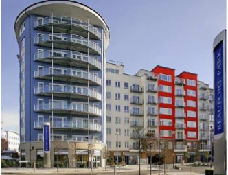 Thumbnail 1 bed flat for sale in Beaufort Park, Aerodrome Road, London
