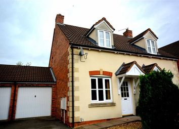 Thumbnail 2 bed semi-detached house for sale in Spoonbill Close, Quedgeley, Gloucester