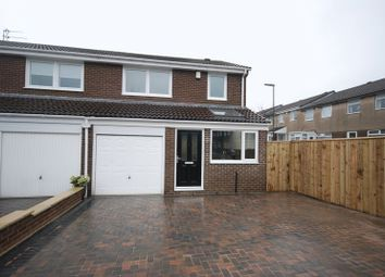 Thumbnail 3 bed semi-detached house to rent in Thornbury Close, Newcastle Upon Tyne