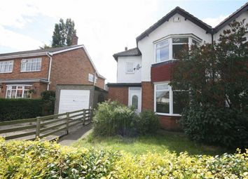 Thumbnail 3 bed semi-detached house to rent in Barrow Lane, Hessle