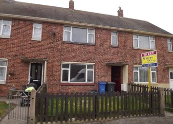 Thumbnail 2 bed terraced house to rent in Wansbeck Avenue, Fleetwood