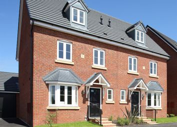 "Thumbnail 4 bed terraced house for sale in ""The Leicester "" at Ribston Close, Banbury"