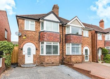 Thumbnail 3 bed semi-detached house for sale in Stanley Avenue, Birmingham, West Midlands