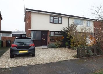 Thumbnail 2 bed semi-detached house for sale in Dudley Road, Honeybourne, Evesham