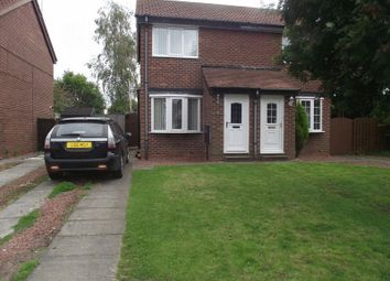Thumbnail 2 bed semi-detached house to rent in Lumley Court, Bedlington