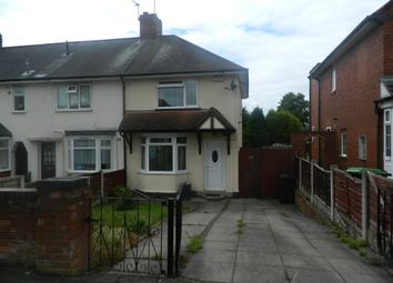 Thumbnail 2 bed end terrace house for sale in Walton Road, Wednesbury