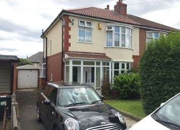 Thumbnail 3 bed semi-detached house to rent in 4 Alderly Avenue, Sharples, Bolton