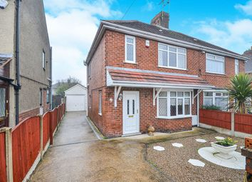 Thumbnail 3 bed semi-detached house for sale in Ley Gardens, Alfreton