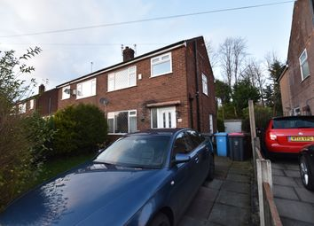 Thumbnail 3 bed semi-detached house to rent in Wardley Hall Lane, Worsley, Manchester