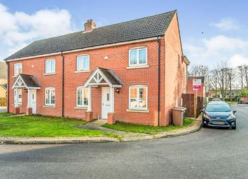 Thumbnail 3 bed semi-detached house for sale in Cherry Tree Crescent, Cranwell, Sleaford