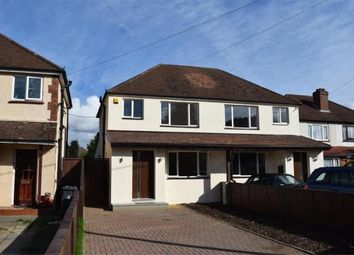 Thumbnail 4 bed semi-detached house for sale in Frimley Green, Camberley