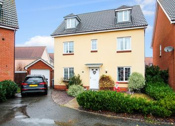 Thumbnail 6 bedroom detached house for sale in Century Drive, Kesgrave, Ipswich