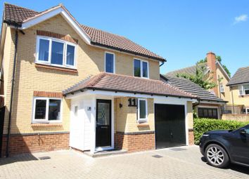 Thumbnail 4 bedroom detached house for sale in Auber Close, Hoddesdon