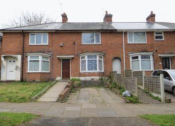 Thumbnail 3 bed terraced house to rent in Tudbury Road, Northfield, Birmingham
