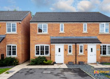 Thumbnail 3 bed semi-detached house for sale in Worthington Place, Leigh