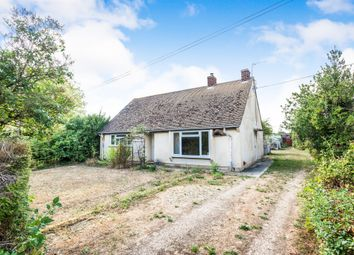 Thumbnail Detached bungalow for sale in New Road, Sutton, Witney