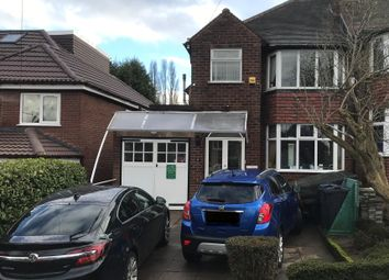 Thumbnail 3 bed semi-detached house for sale in Millfield Road, Birmingham